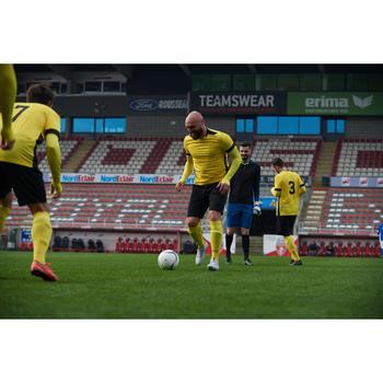 Voetbalschoenen volwassenen droog terrein Agility 900 Mesh Mid FG wit