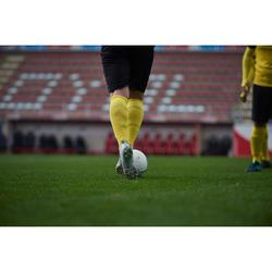 Botas de Fútbol Kipsta Agility 900 FG Mesh Mid adulto blanco