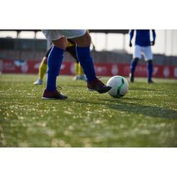 Fußballschuhe Nocken Agility 500 HG Erwachsene schwarz/bordeaux