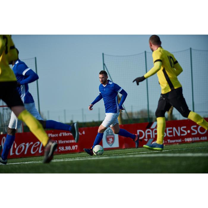 Voetbalschoenen voor volwassenen Agility 900 HG voor hard terrein blauw-oranje