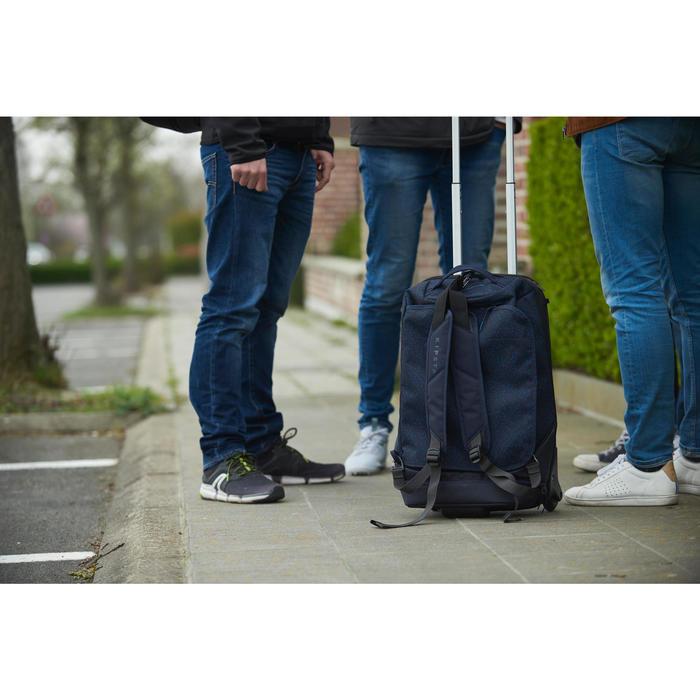 Sac de sports collectifs à roulettes - valise Intensif 30 litres bleue nuit
