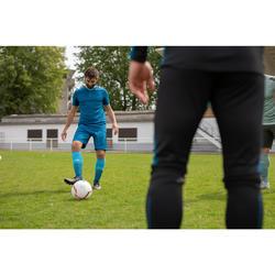 Adult Football Socks F500 - Bright Blue