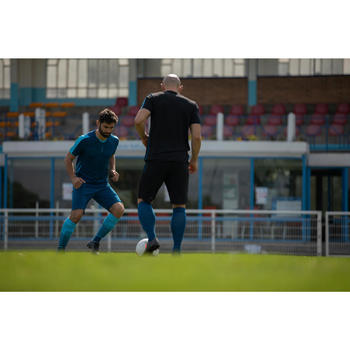 Maillot de football adulte F540 bleu