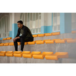 Voetbalbroek voor volwassenen T500 limited edition zwart kaki webexclusief