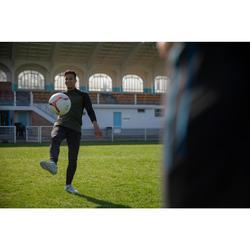 Trainingsjack voetbal T500 limited edition zwart/kaki