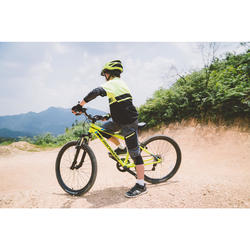 Rockrider ST 500 Kids' 24-Inch Mountain Bike 9-12 Years - Neon Yellow
