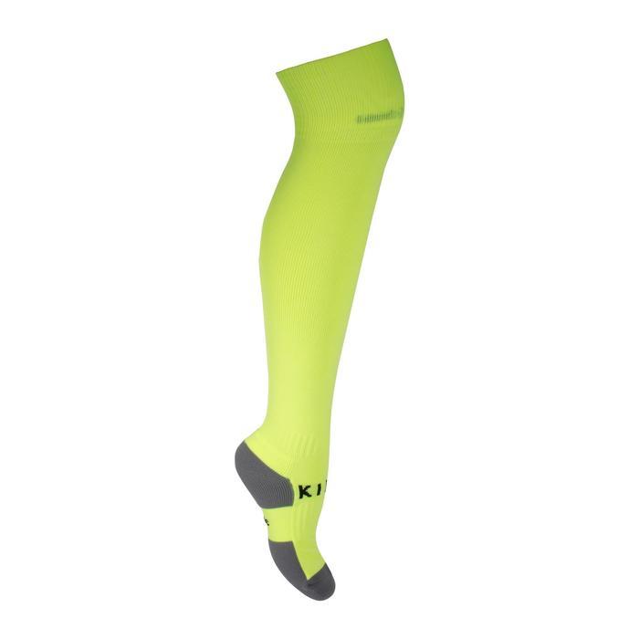 成人款足球襪F500-螢光黃