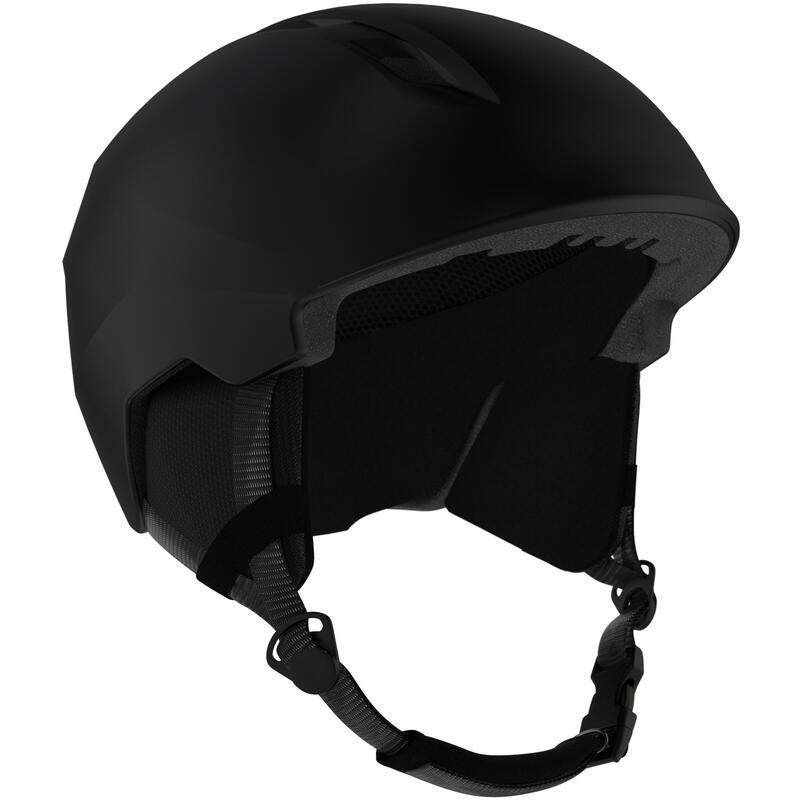 Yetişkin Kayak Kaskı - Siyah - 500