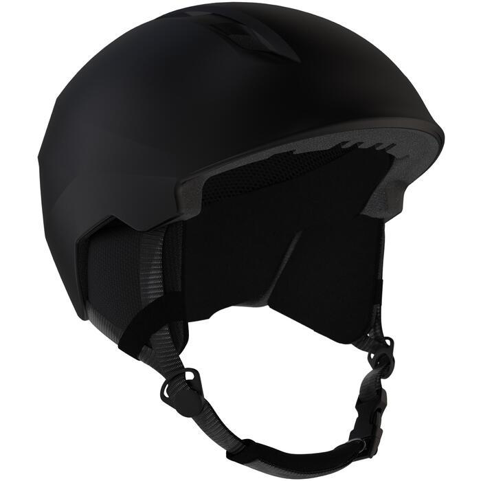 Skihelm voor heren PST 500 zwart