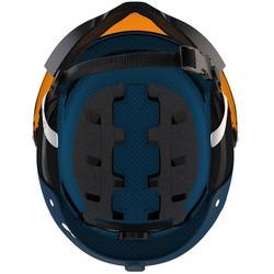 Skihelm met vizier voor pisteskiën volwassenen FEEL150 blauw