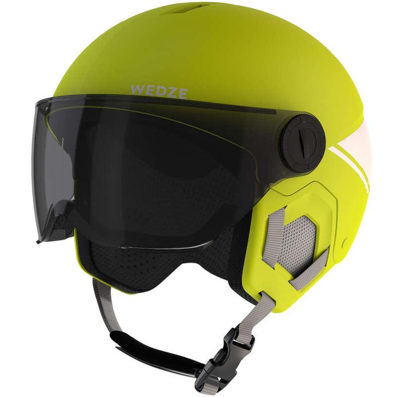 KID SKI AND SNOWBOARD HELMETS Snowboarding - JR D-SKI HELMET H-KID550 - FLU WEDZE - Snowboarding