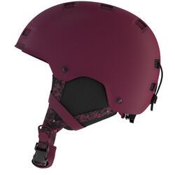 Casque de snowboard (et de ski) adulte et junior H-FS 300 violet