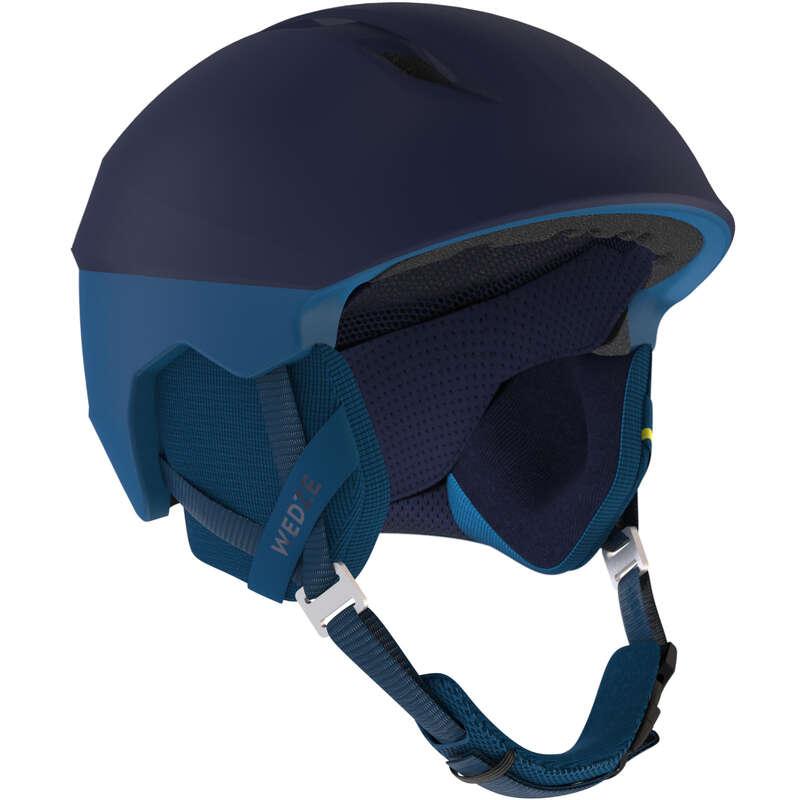 Caschi adulto Sci, Sport Invernali - Casco sci PST900 blu marine WEDZE - Attrezzatura sci