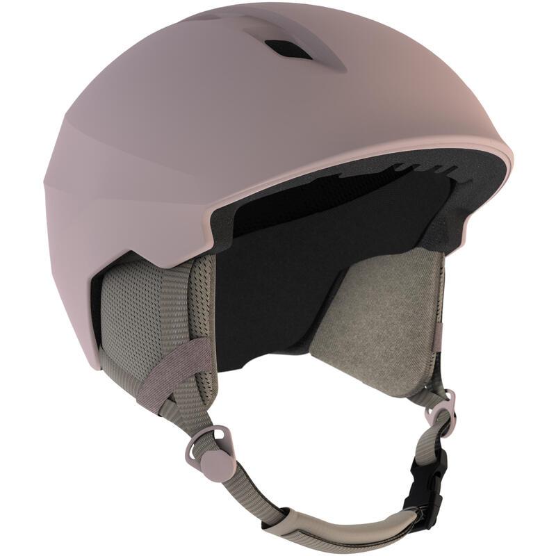 Yetişkin Kayak Kaskı - Pembe - 500