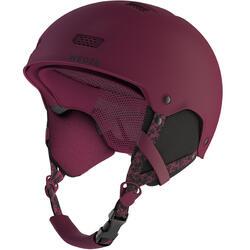 Casco de Snowboard y Esquí, Wed'ze H-FS 300, Adulto y Niño, Violeta