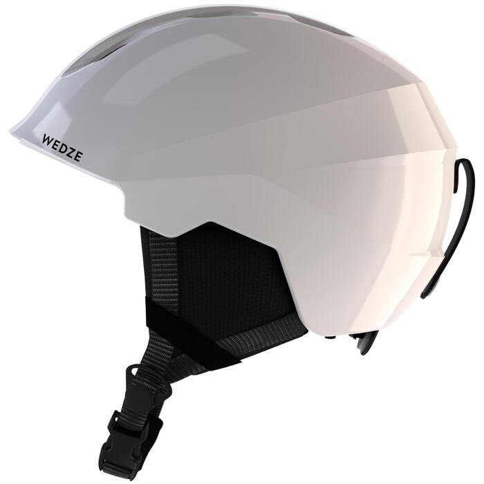 Skihelm voor pisteskiën volwassenen H PST 500 wit