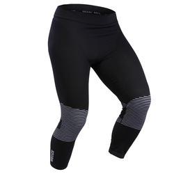 Sous-vêtement de ski homme 900 laine bas noir