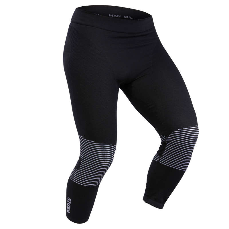 MEN SKI BASELAYER & PULL Skiing - M BL Bottoms 900 X-Warm - Blk WEDZE - Ski Wear