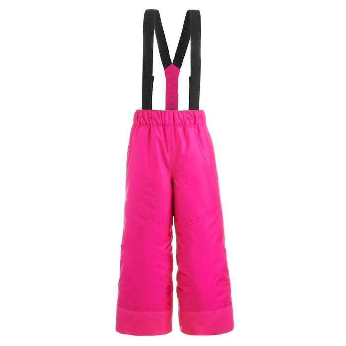 PANTALON DE SKI ENFANT 100 ROSE