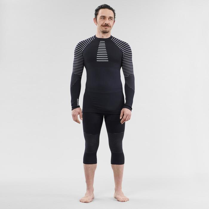 Sous-vêtement de ski homme 900 haut bleu marine