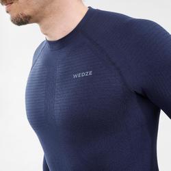 Thermoshirt voor skiën voor heren i-Soft blauw