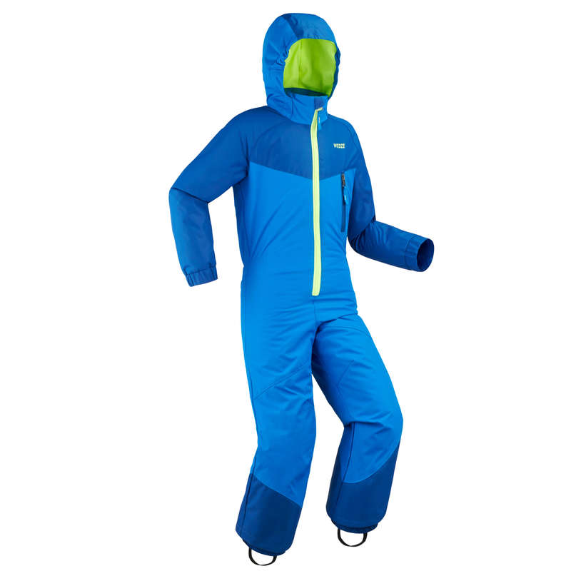 Skibekleidung 100 Kleinkinder Kinderbekleidung - Schneeanzug 100 Kinder blau WEDZE - Skibekleidung Kinder
