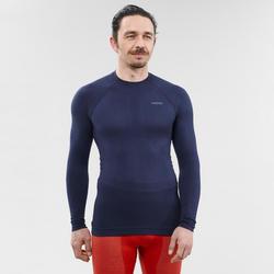 Camiseta térmica Esquí y Snow interior Wed'ze iSoft Hombre Azul