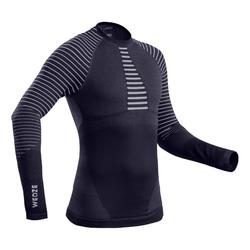 Men's Base Layer Ski Top 900 - Navy Blue