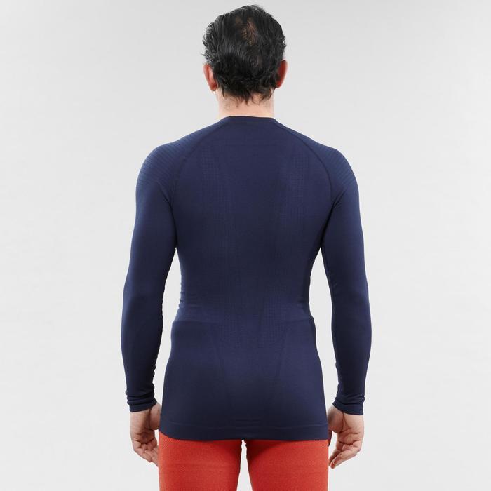 Sous-vêtement de ski homme 580 I-Soft haut bleu