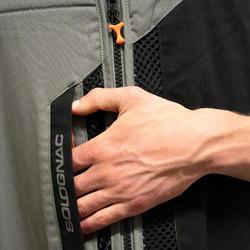Jagdweste 500 Wurfscheibenschießen grau/schwarz (limitierte Edition)