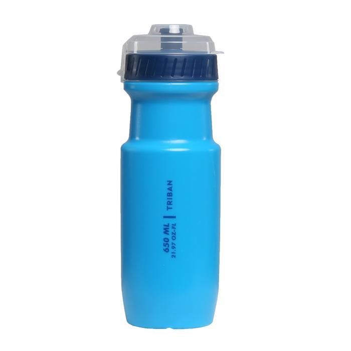 自行車水壺RoadC 650 ml - 淺藍色