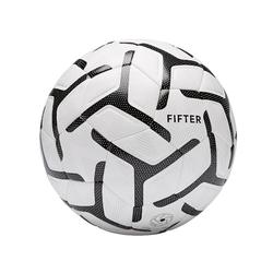 Balón de Fútbol 5 Fifter Society 500 talla 5 blanco y negro