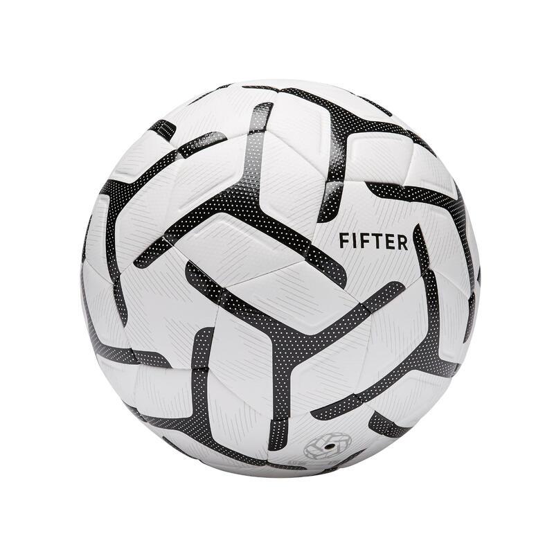 Pallone calcetto SOCIETY 500 taglia 5 bianco-nero
