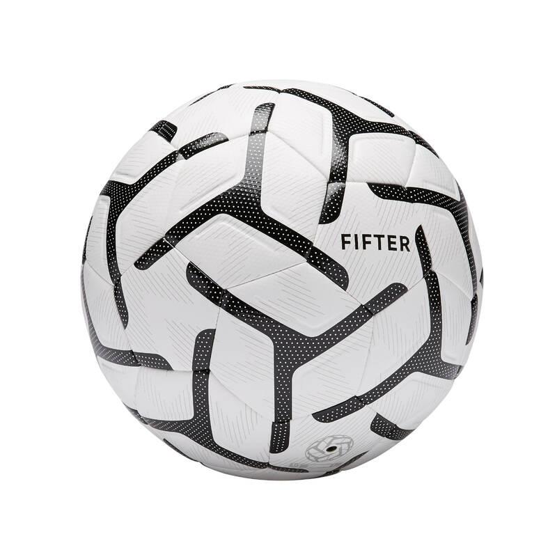 MALÝ FOTBAL Fotbal - MÍČ FOOT5 500 VEL. 5 BÍLÝ FIFTER - Fotbalové míče a branky