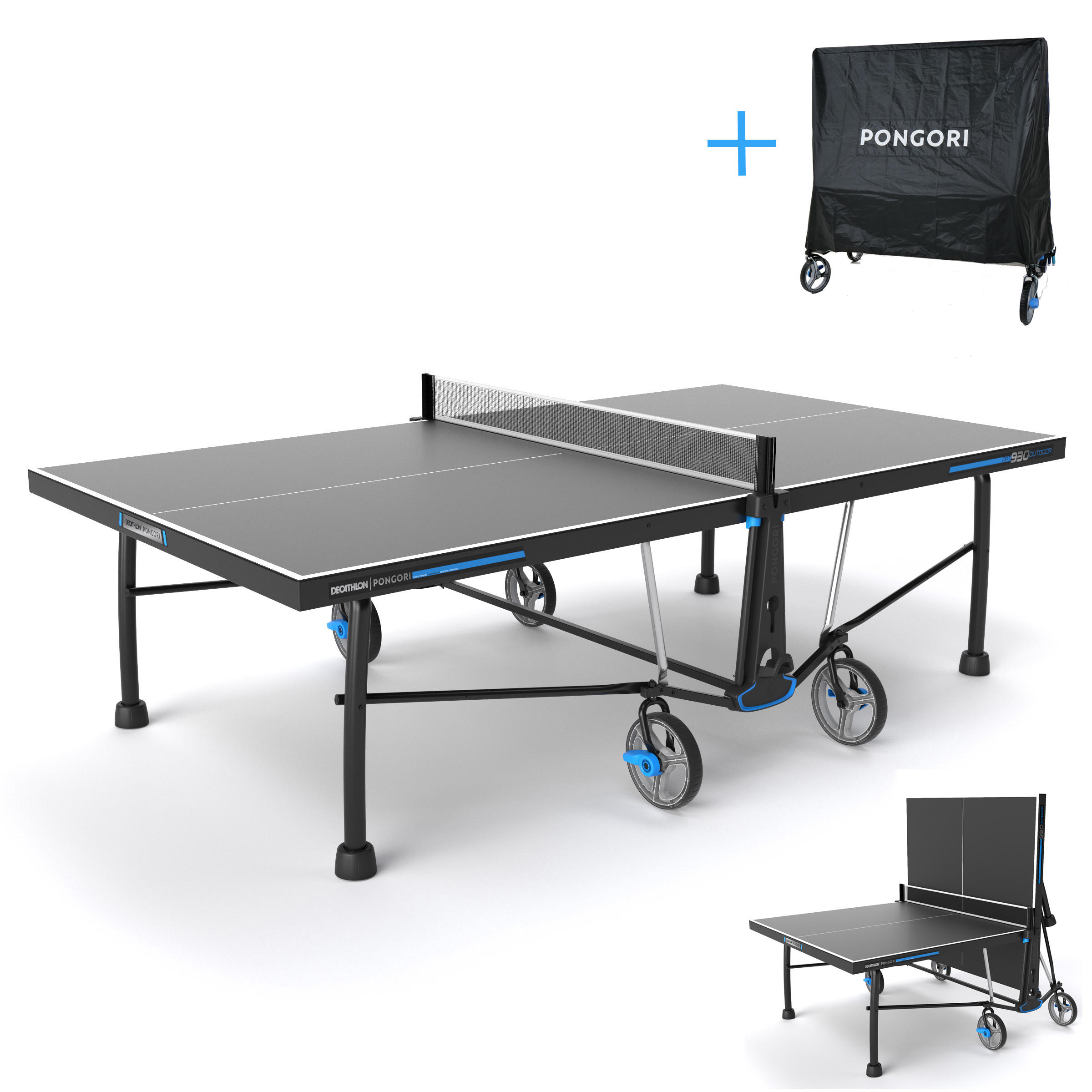 sc 1 st  Decathlon & PPT 930 Outdoor Free Table Tennis Table + Cover