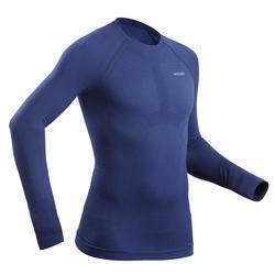 Thermoshirt voor skiën heren 580 I-Soft blauw