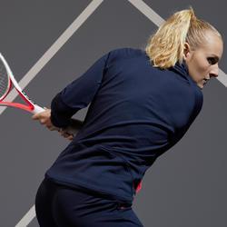 Tennisvestje voor dames JK TH 500 marineblauw