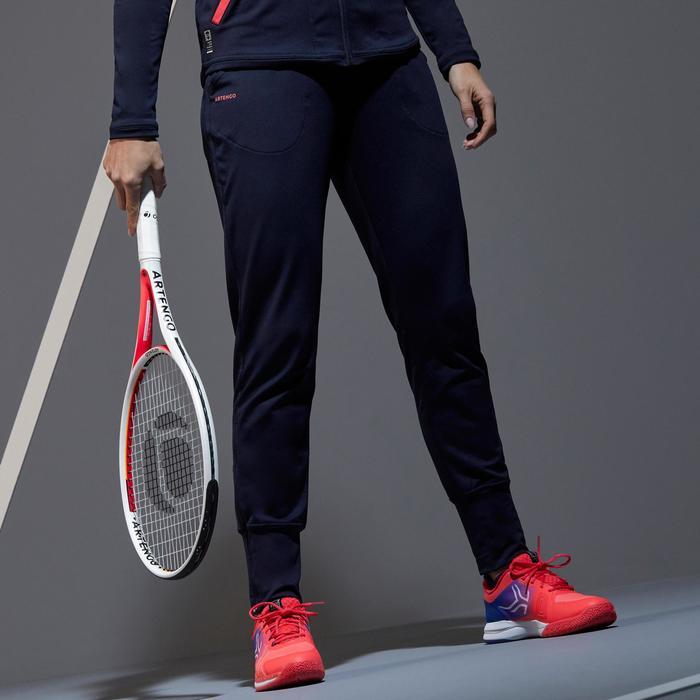 Tennisbroek voor dames TH 500 marineblauw