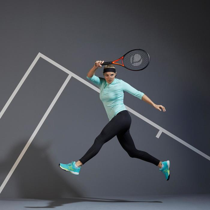 Tennis legging voor dames 900 Zwart