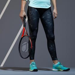 LEGGING DE TENNIS FEMME LEG TH 900 GRAPH