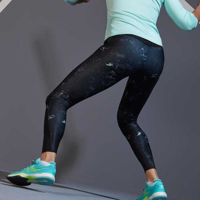 Leggings Tennis TH 900 Damen Druckmotiv