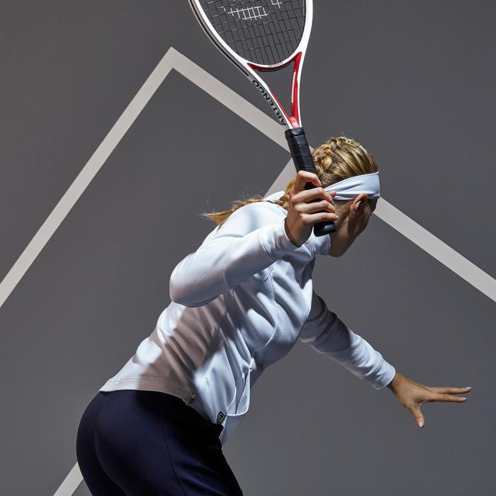 Tennisjacke Trainingsjacke JK Dry 900 Damen weiß