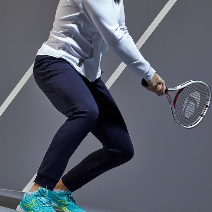 Tennisbroek voor dames PA Dry 900 marineblauw