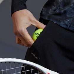 Tennishose PA Dry 500 Damen schwarz