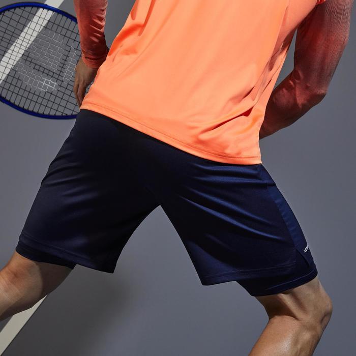 Tennisshorts TSH500 TH Herren marineblau