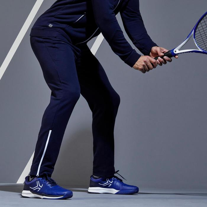 TPA500 Thermal Tennis Bottoms - Navy/White