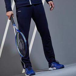 PANTALON DE TENNIS TPA500 TH MARINE BLANC