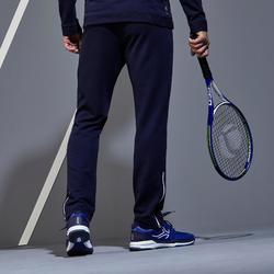 Tennishose TPA500 TH blau/weiß