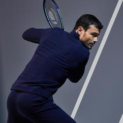 TJA500 Thermal Tennis Jacket - Navy/White