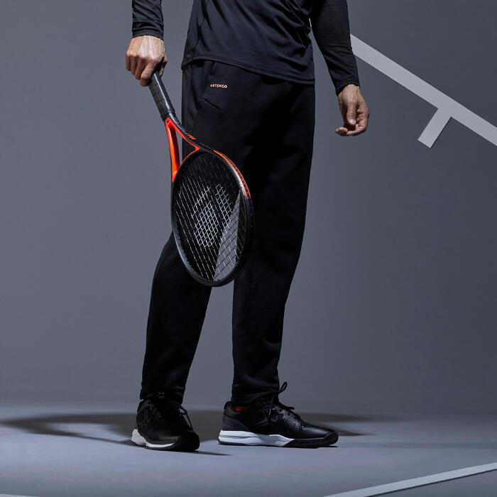 Tennishose TPA 900 Herren schwarz